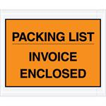Packing List - Invoice