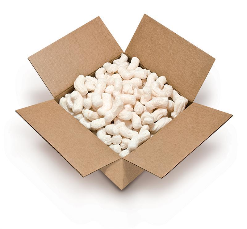 Biodegradable Packing Peanuts 14 Cubic Foot Jumbo Bag